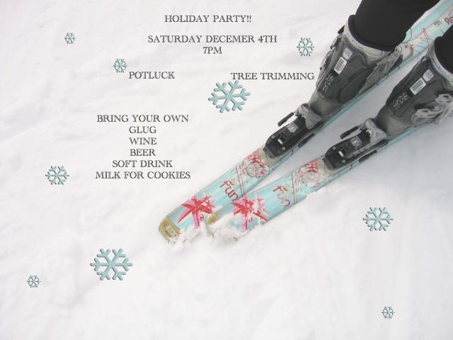 Long Beach Ski Club Holiday Party