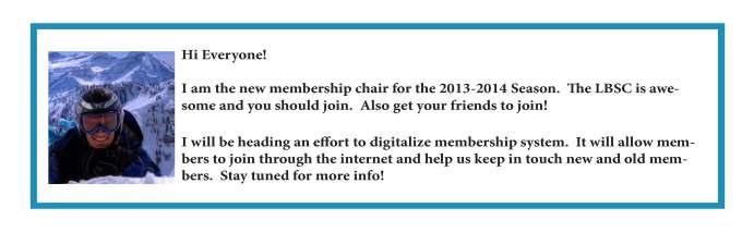 Membership for web