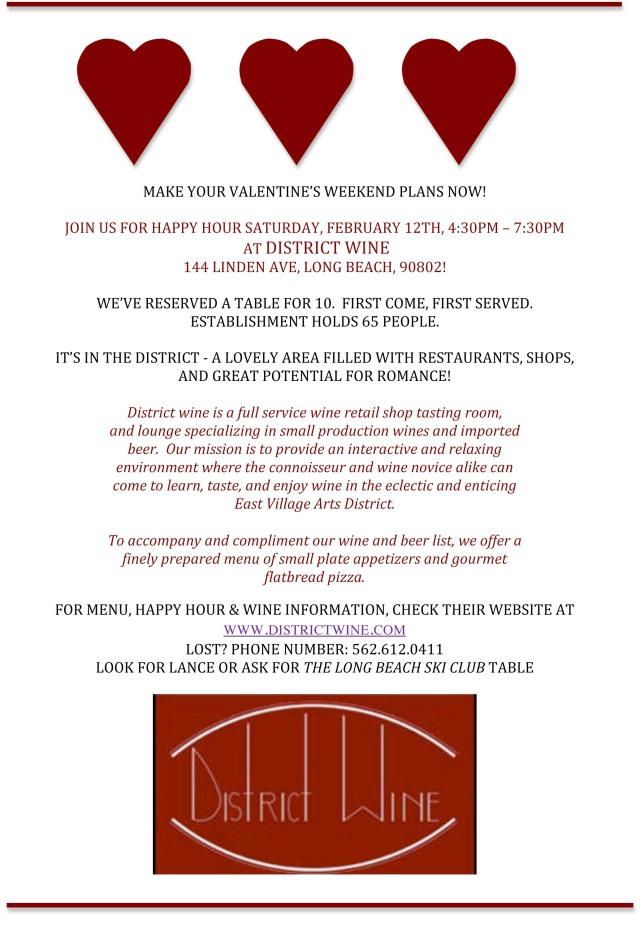 Saturday Valentine's Wine Happy Hour
