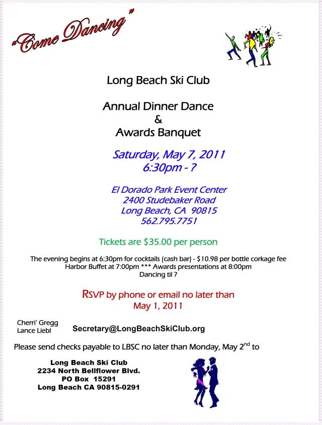 Long Beach Ski Club Dinner Dance & Awards Banquet
